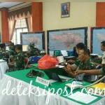 Tingkatkan Kemampuan Komandan Dan Staf Korem 163 Wira Satya Laksanakan Latihan Posko I Penanggulangan Bencana