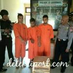 Polisi Tangkap Tiga Orang Pelaku Pencuri Cat Tembok