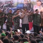 Sukses Mengamankan Rapat Tahunan IMF-WB, Prajurit TNI-Polri Berkumpul di Panggung Sinergitas