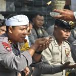 Polres Badung, Gelar Sembahyang Saraswati Sebagai Instropeksi Diri