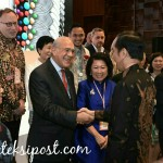 Presiden Jokowi Ajak Delegasi IMF-WB Berbagai Negara Berbahagia di Indonesia