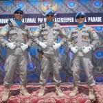 Tiga Personel Polda Bali Dianugerahi Unamid Medal Dari PBB
