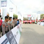 345 Bali Police Personnel Secure Bali International Triathlon
