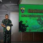 Simakrama Pangdam IX/Udayana Dengan Insan Media