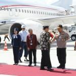 Kapolda Bali Menyambut Kedatangan Presiden RI ke Provinsi Bali