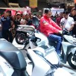 Kunjungi IMOS 2018, Presiden Apresiasi Industri Sepeda Motor Indonesia