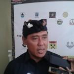 A.A.Bagus Adhi Mahendra Putra Caleg DPR-RI No Urut 2, dari Partai Golkar  Menghadiri Bamus Sunda Bali