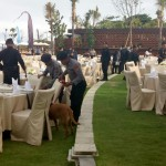 Petugas Jibom dan K9 Sterilisasi Gala Dinner Delegasi WCCE