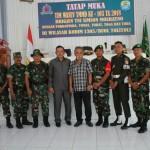 Ketua Tim Pengawasan dan Evaluasi (Wasev) Pelaksanaan TMMD ke 103 di Kabupaten Tolitoli