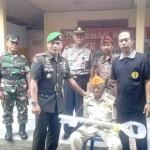 Kodim Karangasem Serahkan Bantuan RTLH Kepada Veteran I Nengah Srinada