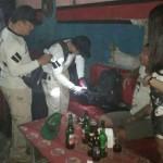 Jelang Tahun Baru Polres Badung Obok -Obok tempat Hiburan Malam.