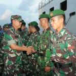Purna Tugas Di Daerah Operasi Satgas Intel dan Bantuan Kembali Ke Home Base