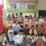 Dit Binmas Polda Bali Berbagi Kasih Kepada Anak Yatim serta Anak Terlantar