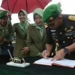Kuatkan Jati Diri Prajurit, Pangdam IX/Udayana, Ajak Anggota Berziarah