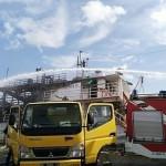 Si Jago Merah Melalap Dua Kapal di Pelabuhan Benoa