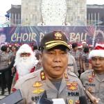 Choir Polda Bali Hibur Wisatawan Asing dan Domestik, Tampil Spektakuler