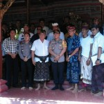 Silaturahmi Kapolres Badung Dengan Penglingsir Jero Kelodan
