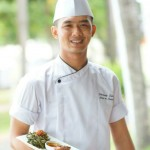 Chef Sheandy Satria gets to showcase his skills every day at The Westin