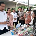 Presiden Joko Widodo, Memuji Kerja Keras Nasabah Mekaar