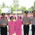 Suasana Ceria di Alamai Oleh 128  Personel Polres Buleleng