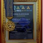 Griya Santrian menerima anugerah Super Platinum III Award