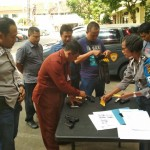 Propam Polda Bali Cek Senpi Anggota, Antisipasi Pelanggaran Disiplin.