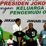 Presiden Apresiasi Pengemudi Transportasi Online sebagai Pelopor