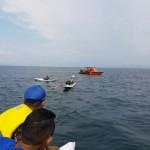 Tim Sar Polair Lakukan Pencarian Korban Jatuh Dari Kapal