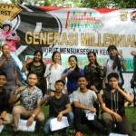 Kegiatan Generasi Millennial Anti Hoax dan Mendukung Pemilu 2019 Aman