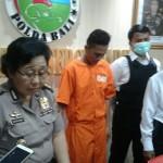 Dua Pelaku Pengedar Narkoba Ditangkap  Direktur Reserse Narkoba Polda Bali