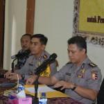 Tim Puslitbang Polri Dalam Kegiatan Kusioner Pengamanan Pemilu 2019
