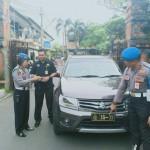 Provos Polda Bali Razia Kendaraan Dinas