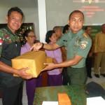 Kodim 1610/Klungkung Komsos Dengan KB TNI Untuk Jaga Soliditas