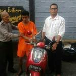 Unit Reskrim Polsek Mengwi Tangkap Pelaku Curi Sepeda Motor