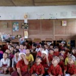 Komsos Babinsa Selabih,  Ingatkan Bahaya Demam Berdarah Bagi Anak-Anak Sekolah