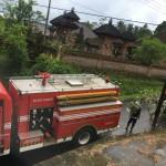Sijago Merah Melalap Rumah Milik Warga di Desa Taman