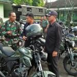 Kodim 1617/Jembrana Cek Kelengkapan Kendaraan Personel