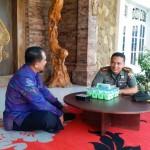 Dandim Klungkung Silahturahmi Ke Wakil Bupati, Rencanakan Safari Ke Desa-Desa