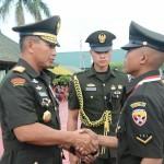 Pangdam IX/Udayana Lantik 205 Bintara Prajurit Karier TNI-AD