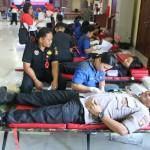 Polda Bali Gelar Donor Darah Dalam Rangka Dharma Santhi Caka 1941 Tahun 2019