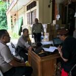 Tiba di Gudang KPU Kabag Ops Cek Proses Logistik Pemilu