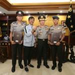Anggota Polri Timnas Sepak Bola Indonesia Juara Piala AFF U-22