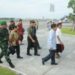 Wakil Presiden RI Tiba Di Bali, Pangdam Sambut Di Bandara I Gusti Ngurah Rai