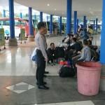 Kabag Ops Cek Anggotanya Saat Tugas di Terminal Mengwi