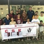 The Best Western Premier Agung Resort Ubud CSR team
