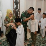 Pangdam Gelar Doa Bersama Anak Panti Asuhan Dari Lintas Agama