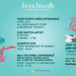 Food Starts Here! This April, beachwalk Shopping Center presents EAT & Repeat.