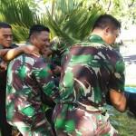 TNI Sangat Identik Naik Pangkat, Ceburin Kolam.