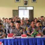 Polres Karangasem Latihan Fungsi Teknis Binmas Jelang Pemilu 2019