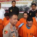 Polisi Tangkap Komplotan Spesialis Bobol Toko